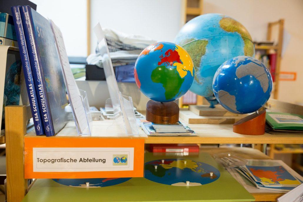 CreaVita Montessori Schule Primaria - Lernumgebung